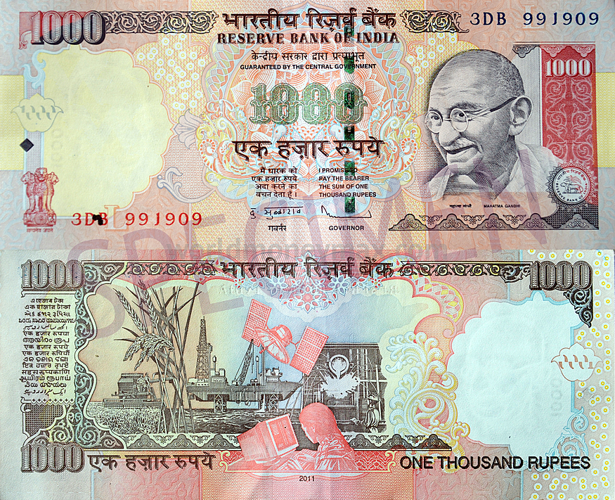 Indian Currency 1000 images