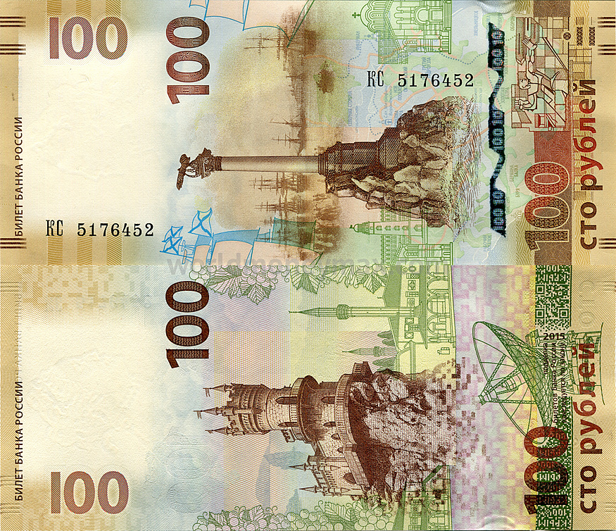 Image result for actual Ruble (RUB) banknotes