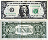 Banknote USA 1 Dollar 2013