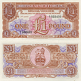 Banknote Great Britain 1 Pound 1948