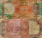 Banknote India 10 Rupee 1992