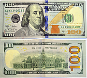 Banknote USA 100 Dollar 2009