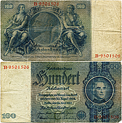 Banknote Germany 100 Mark 1935