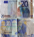 Banknote Germany 20 Euro 2002