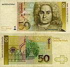 Banknote Germany 50 Mark 1991