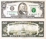Banknote USA 50 Dollar 1993